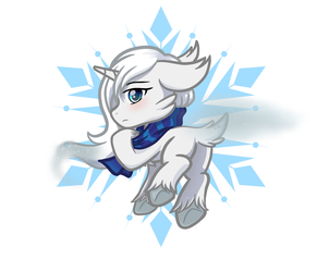 Winter Mist (Commission) by Mutant-Horsies