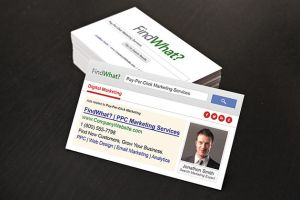 Google SEO Business Cards by xstortionist
