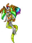 Full body of Jezzebell's costume by animelover1123