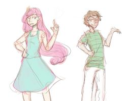 Zombi and Hwnt by MotherofOnity