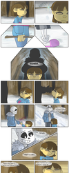Regret - Page 1 (Undertale comic) by BroGirl62