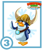 Snomad Tuck Card #3 : Pointy Tucks by UncleLaurence