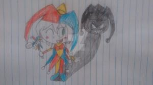 Blanche the jester by superdes513