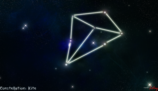 Kite Constellation - Planet Ex Series 7 by Lotay