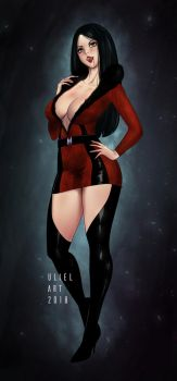 Bianca Bordeaux by Ulieart by NewEvilRising