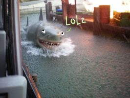 Jaws by BurningCheese