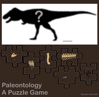 Paleontology A Puzzle Game. by Szymoonio