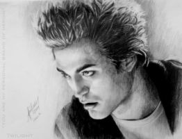 Robert Pattinson-edward cullen by LilDevilAriel
