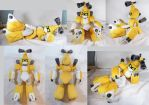 Lifesize Metabee Plush by WhittyKitty