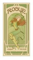 Art Nouveau Rogue - Anna Marie by MyBeautifulMonsters