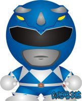 Mighty Morphin' - Blue by Gillbob316