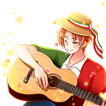 APH - A Song For You by TheTwinGardeners