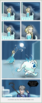 A little bit fun for Elsa - Jack Frost is guilty by chillydragon