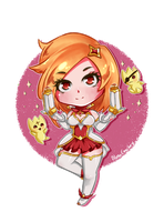 Miss Fortune Star Guardian by AlmaGKrueger