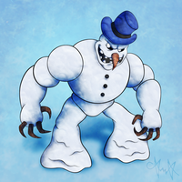 CFC #1 - Bad Mr. Frosty by gagaman92