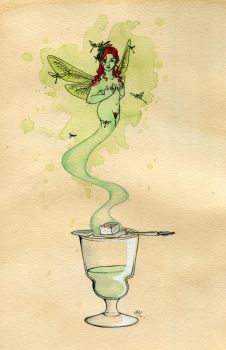 The Green Fairy by Kitty-Grimm