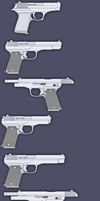 WIP: The guns of Araea:  pistols old and new by Kazanlak10