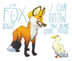 The Fox by PearlChelle