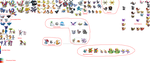 My Pokemon Sprite and Fusion Works by StormClawPonyRises