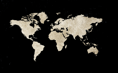 Black Earth Map by SH--Design
