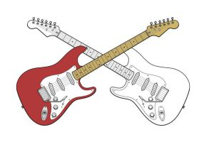 stratocaster by eagi
