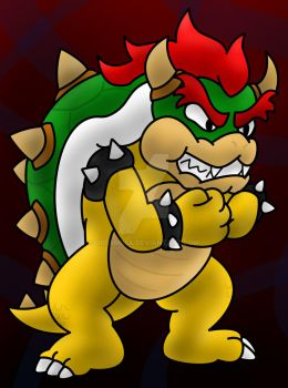 Bowser Koopa by DreamBex