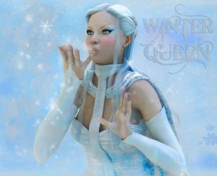 The Winter Queen by indigodeep