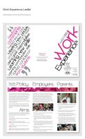 Work Experience Leaflet by weyforth