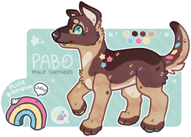 [CLOSED] Pabo the Pup by lithxe
