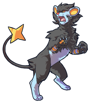 PDC 3: Luxray by MamaTad