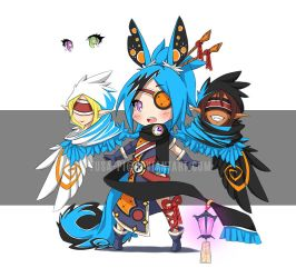 CLOSED / 8 / Adopt Auction / Chromie by gitsumi