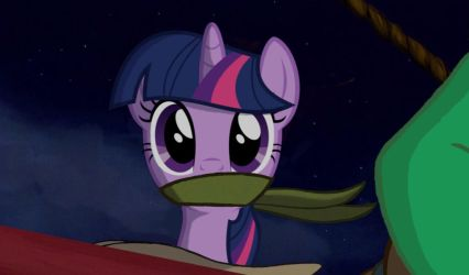 Twilight sparkle kidnapped edit  by darktenor5