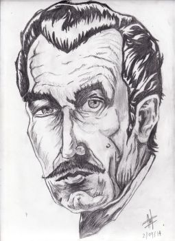 Vincent Price by calejocarecangrejo