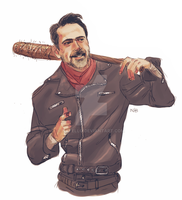 Negan by Natello