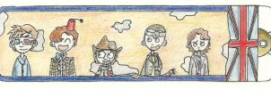 Favourite Doctors (Bookmark) by KeuleMachtBeule