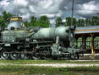 Train stock 2 by CindysArt-Stock