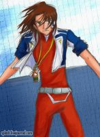 Digimon Savers - Masaru by splashgottaito