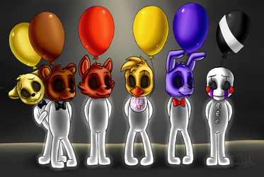 The End (Five Nights at Freddy's 3) by ArtyJoyful