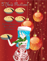 MMD - HOLIDAY PIES + DL by RoseBeri