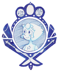 Pearl - Crystal gems - Steven Universe by Alba-R-Luque