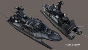 FS-57 Class Fast Attack Craft - Final Version by Helge129