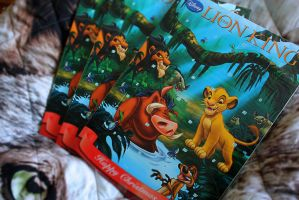 Lion King Chocolate Advent Calender by Takadk