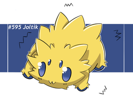 Smallest spark ever, Joltik by LuisMGalindo
