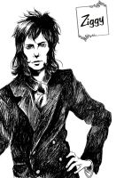 Ziggy in Ink by alyprincess221