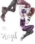 Anna Blue and Damien Dawn  'angel' by ohfifteen