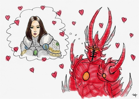 Valentines Of Might And Magic by Bazylia-de-Grean