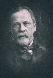 Louis Pasteur - Smudge Art by nazimskikda