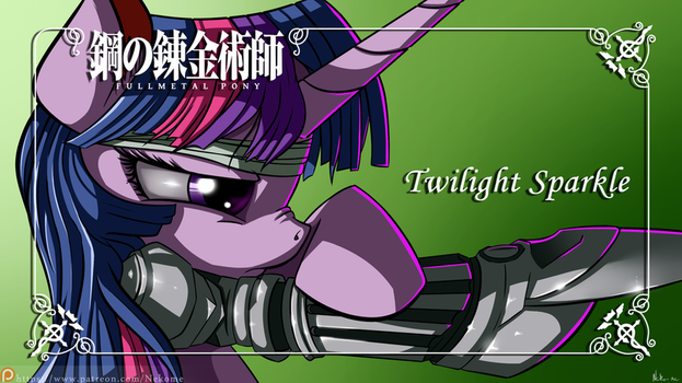FullMetal Pony - Twilight Sparkle by Neko-me