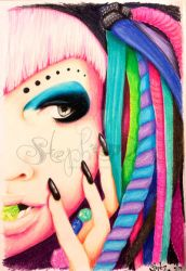 Cybergoth by stephalynnd