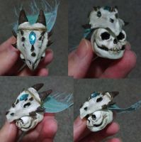 Undead Ice Dragon Lord by LoyalCellHeart